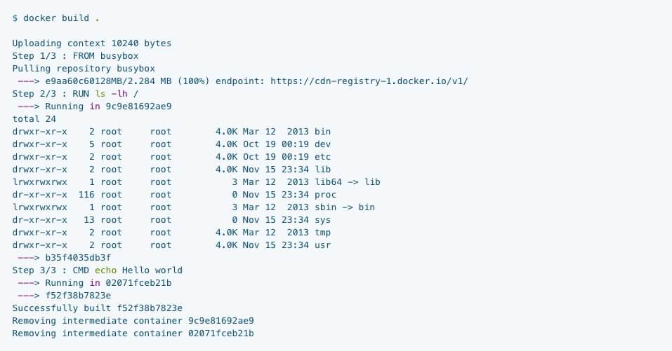 docker-build-依據需求客制化容器的內容